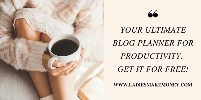 The Ultimate blog planner for bloggers. Grow your blog today!