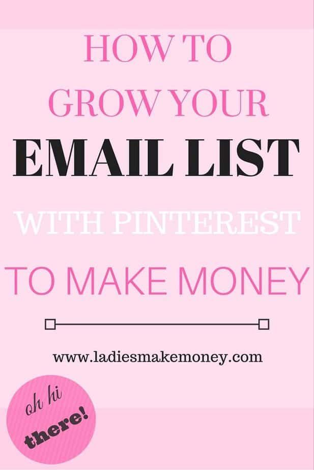 Grow Your Email List with Pinterest