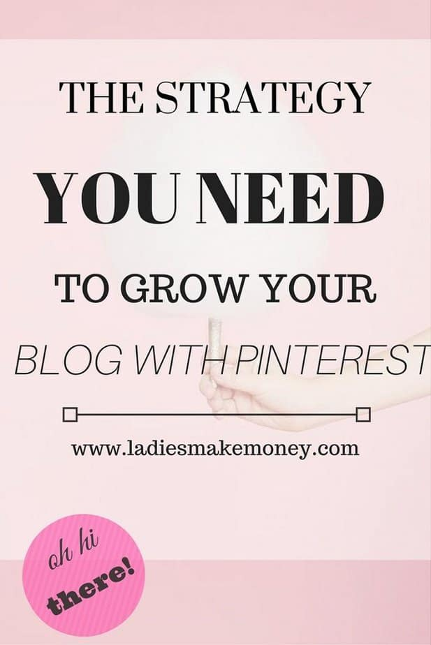 The Strategy you need to Grow your blog with Pinterest