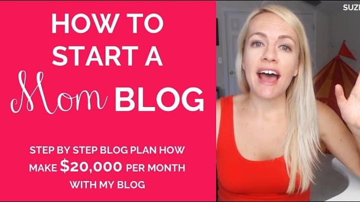 how to start a mom blog with Suzi Whitford