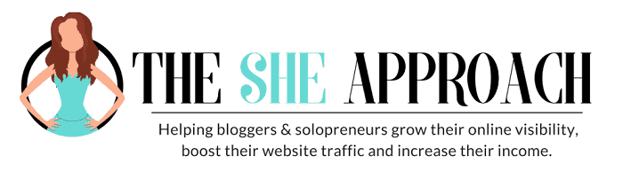 the she approach blogger, the best business blog for women!
