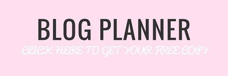 Blog Planner Printable. Plan your blog schedule one year in advance.