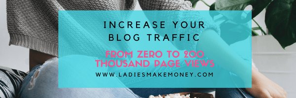 How to increase blog traffic with Pinterest. See how one blogger went from zero pageviews to over 200 thousand pages per month in less than 3 months. Increase your blog traffic today. Use Pinterest SEO to grow and expand your reach.
