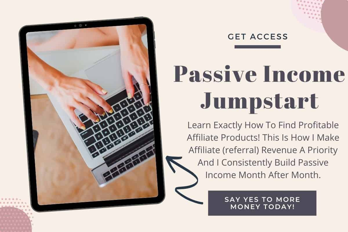 Passive Income Jumpstart: How to Find Profitable Affiliate Products! Want to create passive income in your biz, but aren't sure how? Tried referral / affiliate marketing but didn't have much luck? Let me show you one of the easiest ways to find products you'll be excited to share and earn commissions on.
