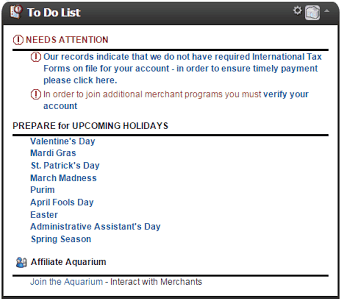 Shareasale affiliate dashboard