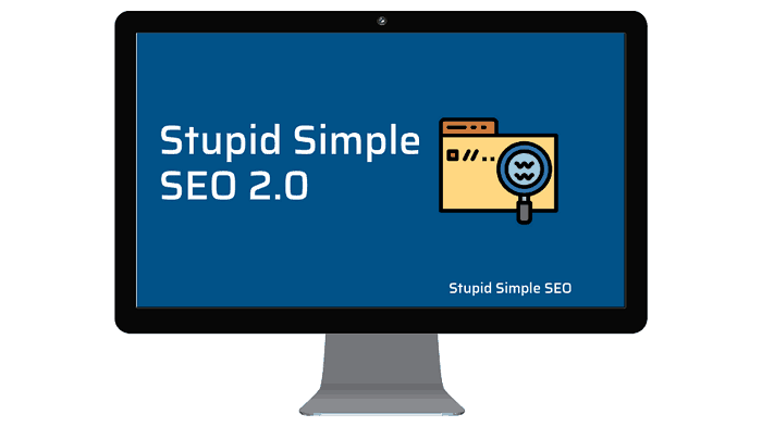 Stupid simple SEO for bloggers. A course on how to use SEO to build a successful and profitable blog. He is how to use SEO to build a blog. Join Stupid Simple SEO today #stupidsimpleseo #seotips #bloggingtips