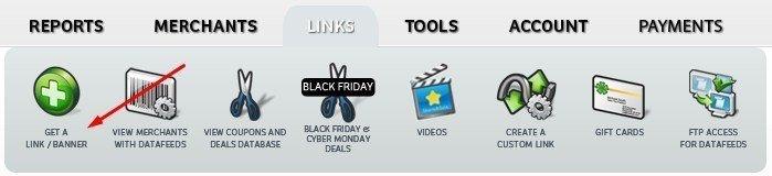 get a link banner for shareasale affiliate program