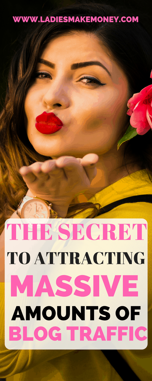 The secret to attracting a massive amount of blog traffic