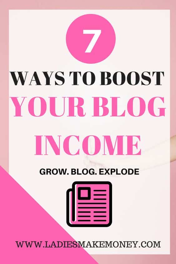 Here are 7 ways to increase your blog income