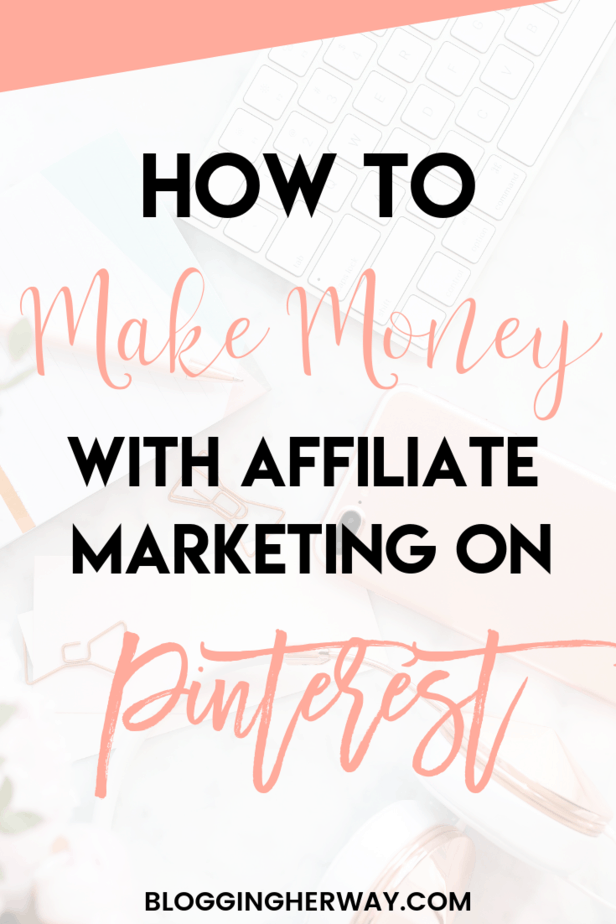 How to Make Money on Pinterest with Affiliate Marketing. Want to learn the tips I use to make money on Pinterest every month. Get the full scoop on the blog today. We share 9 strategies to monetize Pinterest today #makemoneyonpinterest #makemoneyonline