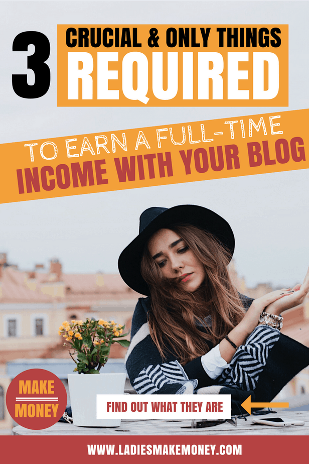 Make a full-time income with your blog. They are so many tips and ideas on how to get paid to blog on Pinterest. You only need 3 things to earn passive income and make money online with your blog. Find out how to earn real money online working from home online. We have great ideas on how to earn extra money fast using your blog. These are the best money making ideas on Pinterest! #Makemoneyonline #makemoneyblogging #bloggingtips #getoaidtoblog