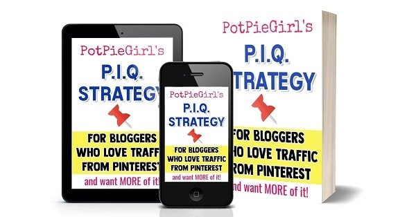 The PIQ Pinterest strategy to help increase your blog traffic. #pinteresttips