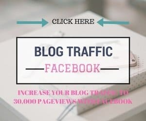 How to increase your blog traffic with Facebook. Grow your blog today.