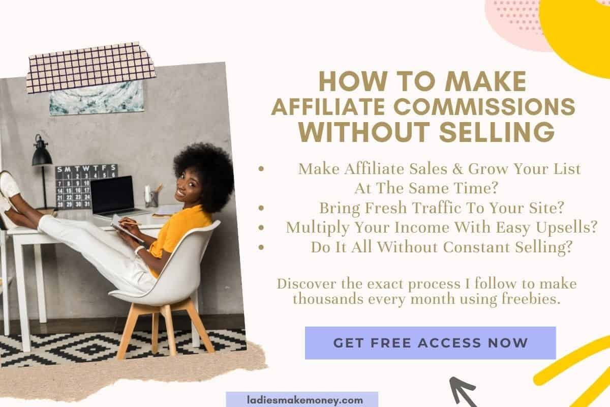 How to make money with freebies. Learn how I make money using freebies every single day. Monetize your business today.