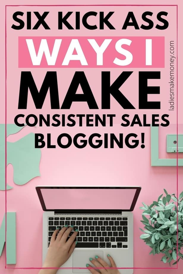 6 Secrets To Consistent Sales – Sales Techniques That Work For Creatives and Bloggers. Landing the sale in your business sounds a lot easier than it is. It can be challenging for business owners to consistently make sales–which is why I've written this article. Making a Consistent, Sustainable Income as an Entrepreneur, here are the blogging tips that work to make consistent sales for your blogging business.