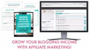 grow your blog income with affiliate marketing