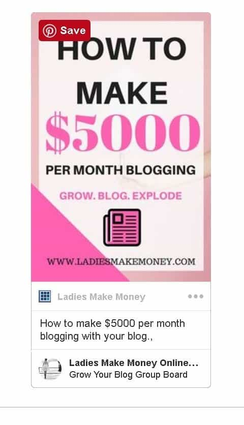 How to make money from your blog/