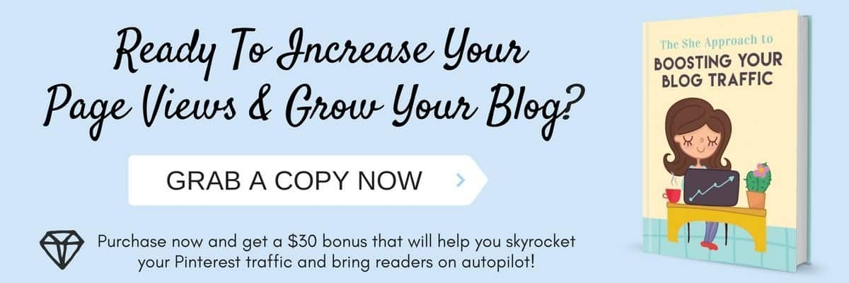 Increase your blog traffic, seo and blog productivity with this ebook