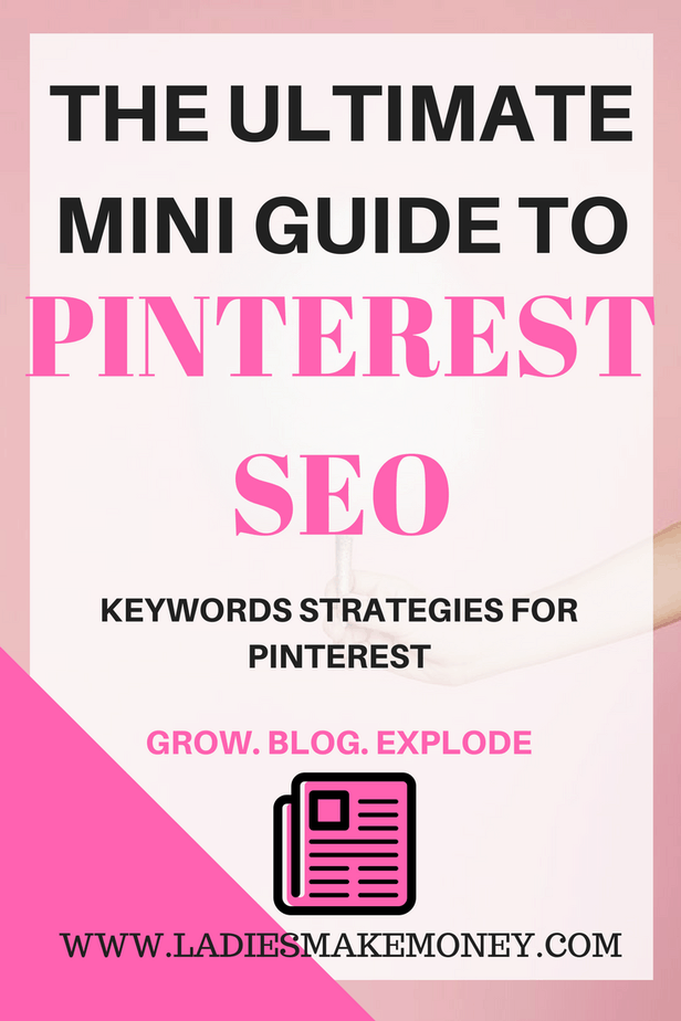 The Ultimate Mini Guide to Pinterest SEO and Pinterest keywords strategy