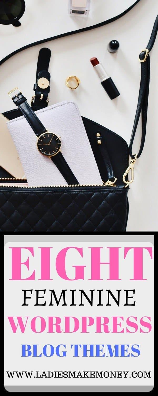 8 Beautiful Feminine WordPress blog themes for Female Entrepreneurs (5)