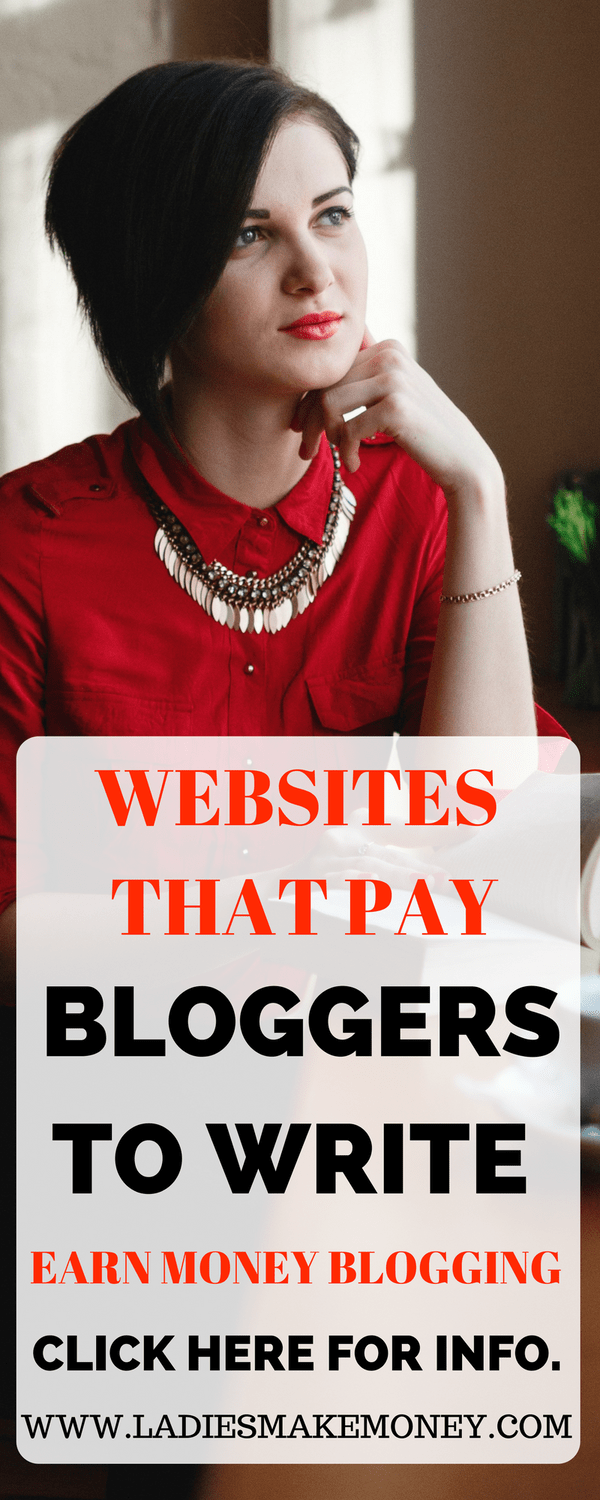 Websites that pay bloggers to work