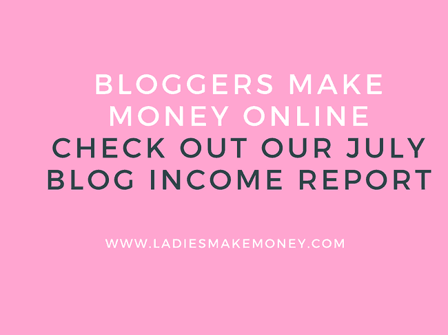 BLOG INCOME REPORT