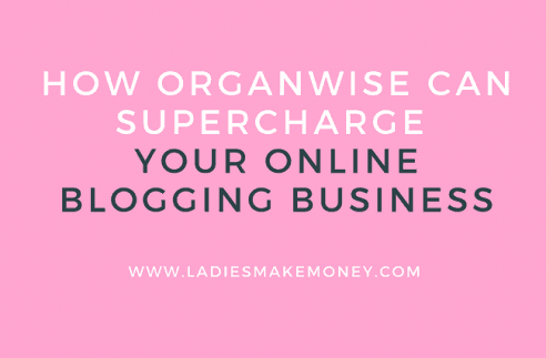 How Organwise can super-charge your online blogging business!