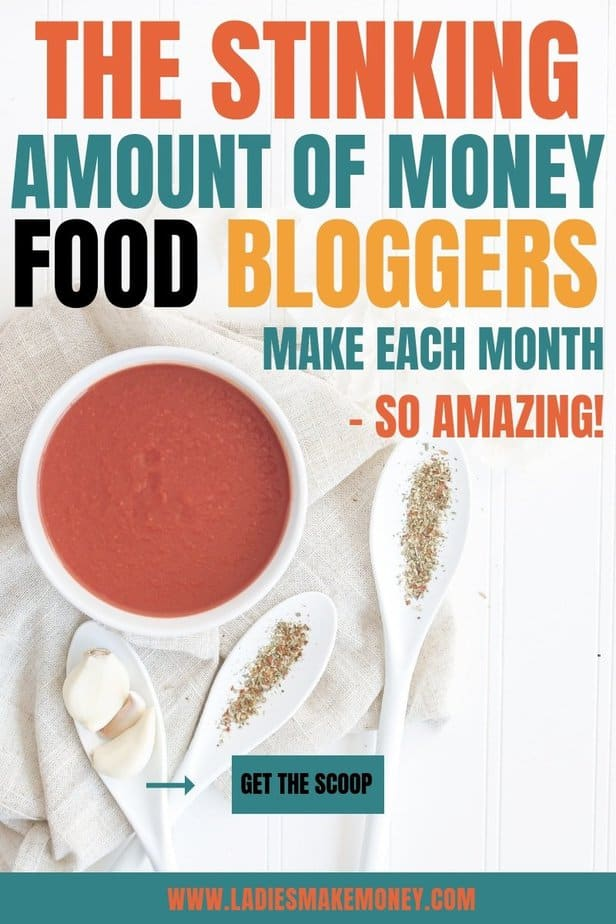 How to food bloggers make money? If you are looking to start a food blog but you need help monetizing your food blog, you might want to check out these food blog income report, They are full of tips on how to monetize your food blog #foodblogger #foodblog #food