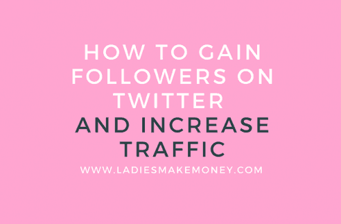 How to gain followers on Twitter and use it to increase your blog traffic