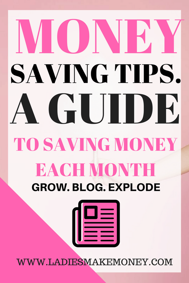 Money saving tips, How to save money each month