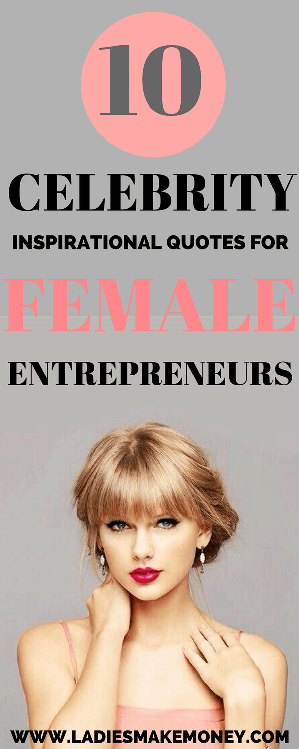 Female celebrity entrepreneurs