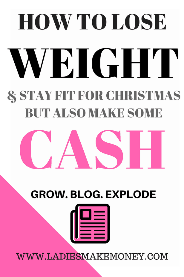 How to lose weight fast and make some money