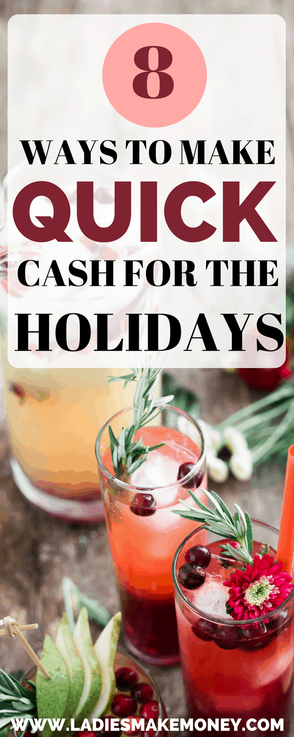 Ways to make extra cash for the holidays