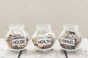money saving jar