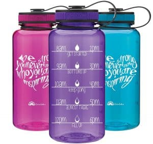 Water bottle tracker to lose weight