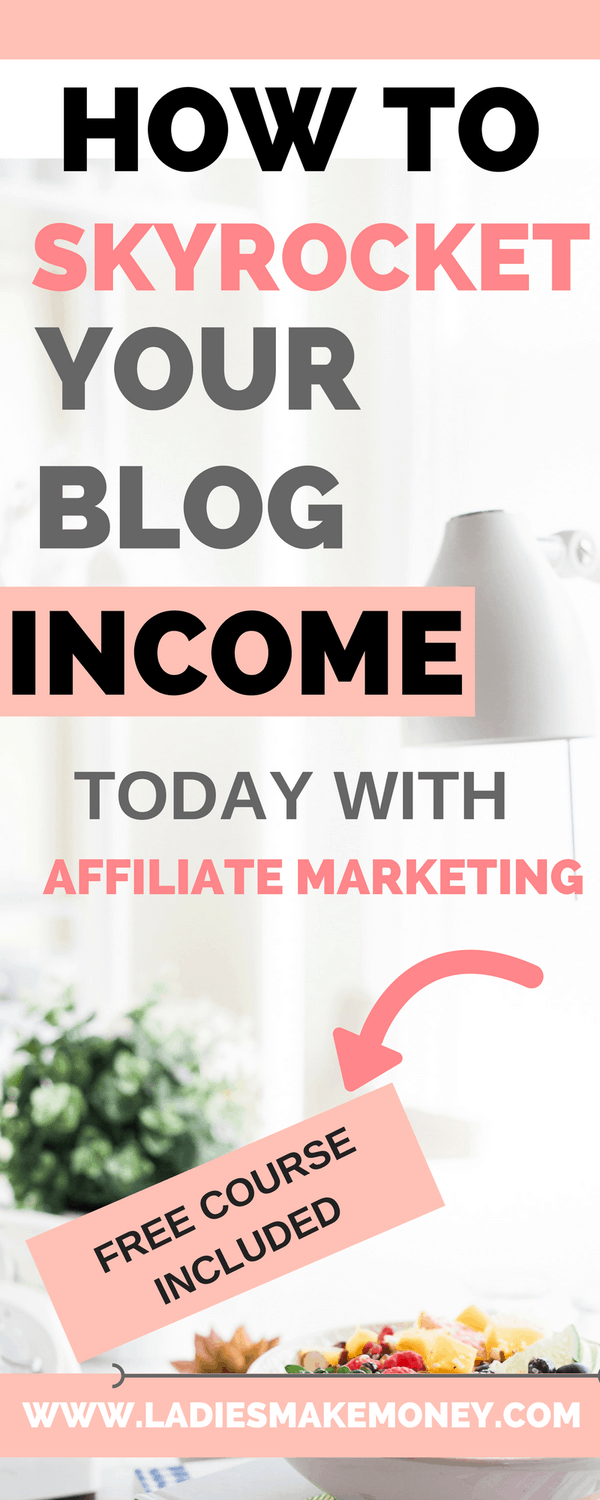 Affiliate marketing for beginners to make money