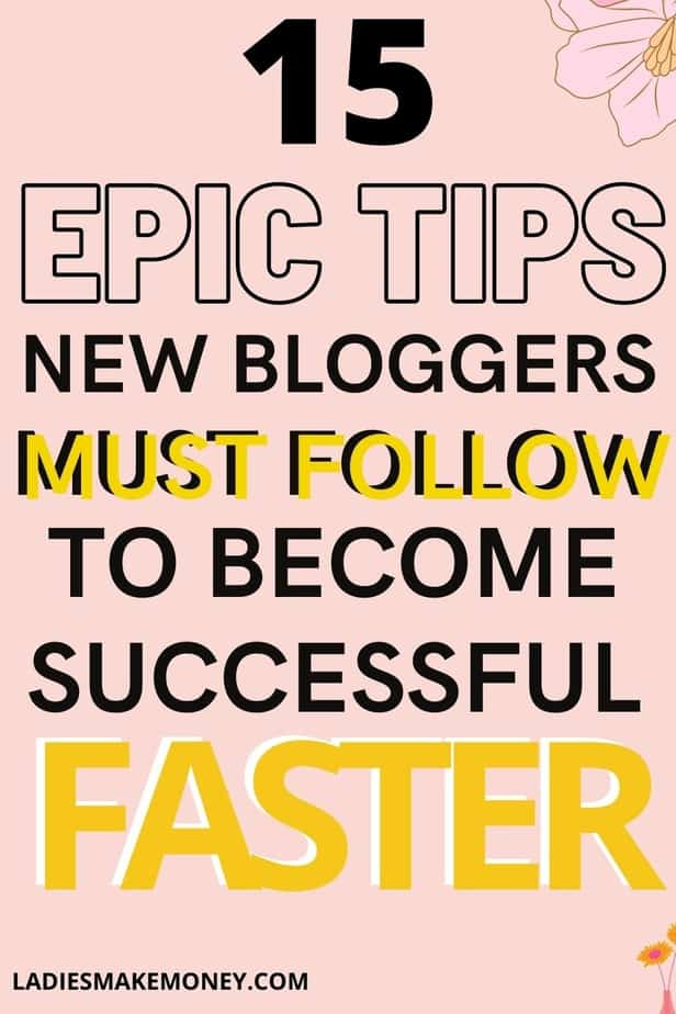How do beginner bloggers make money? Here are the Best Blogging tips for new bloggers! What is the best advice for blogging? Go ahead and click here to find out my top blogging tips for bloggers. I share the best Best advice for new bloggers!