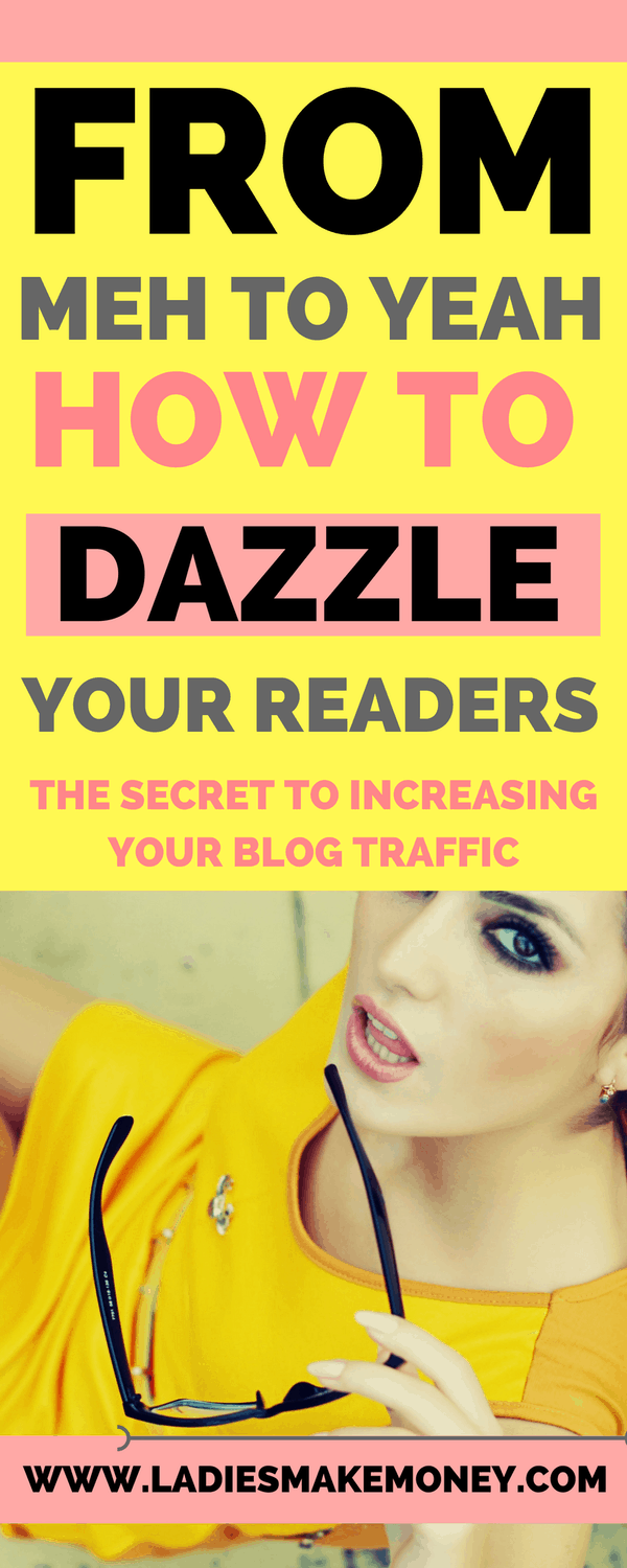 Increasing your blog traffic and attracting more readers.