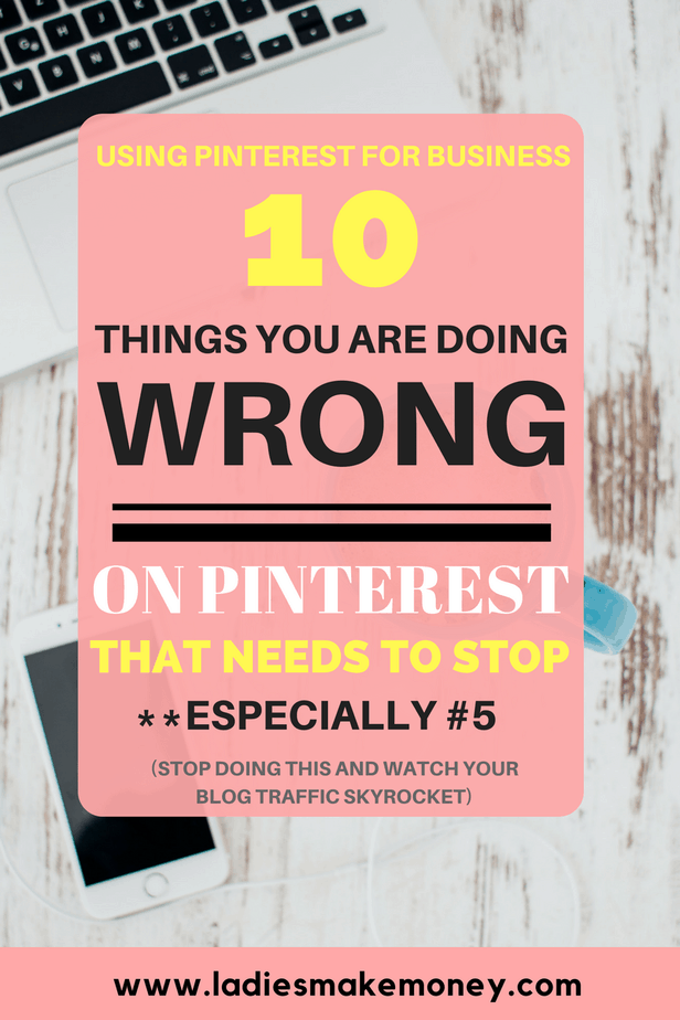 10 Things you are doing wrong on Pinterest that needs to stop now 1