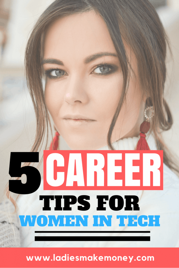 Career tips for women in tech