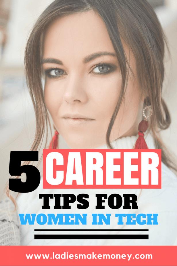 Career tips for women in tech