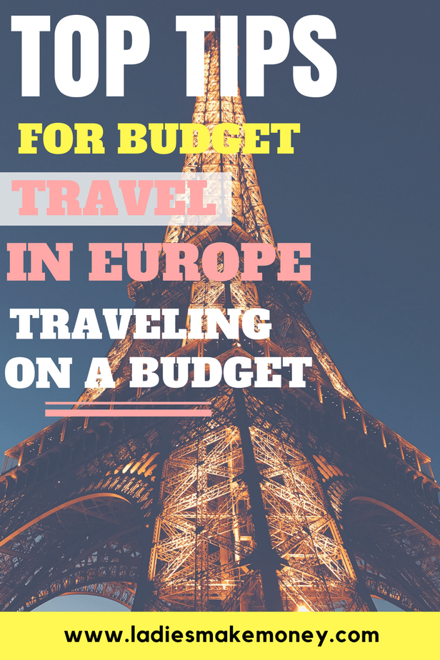 Top Tips for Budget Travel in Europe. Traveling on a budget. Travel on a budget ideas. How to save money on traveling. Travel on a budget Europe. Traveling tips on a budget. Saving money on vacation. Vacation budget trip. How to visit Europe. How to plan a trip to europe on a budget. #travelingtips #budgettips