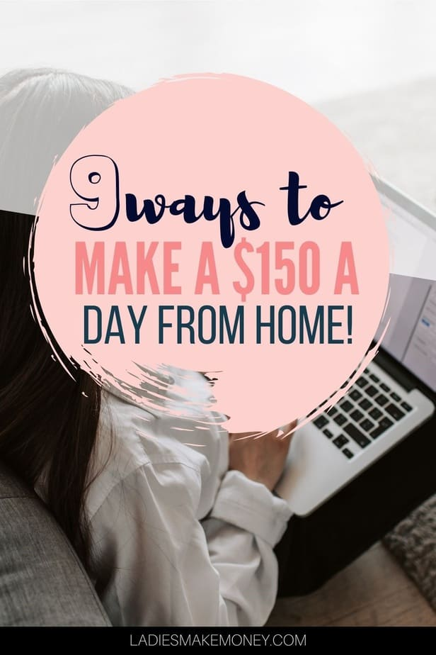 Simple side hustle ideas to make extra cash at home! NEED MONEY NOW? Learn how to make money fast with these creative ways to make money! And there are cool ideas you've never heard of before! These are REALLY the best ideas to make $150 dollars a day! #makemoneyonline #makeextramoney #sidehustle #workfromhome #earnmoney