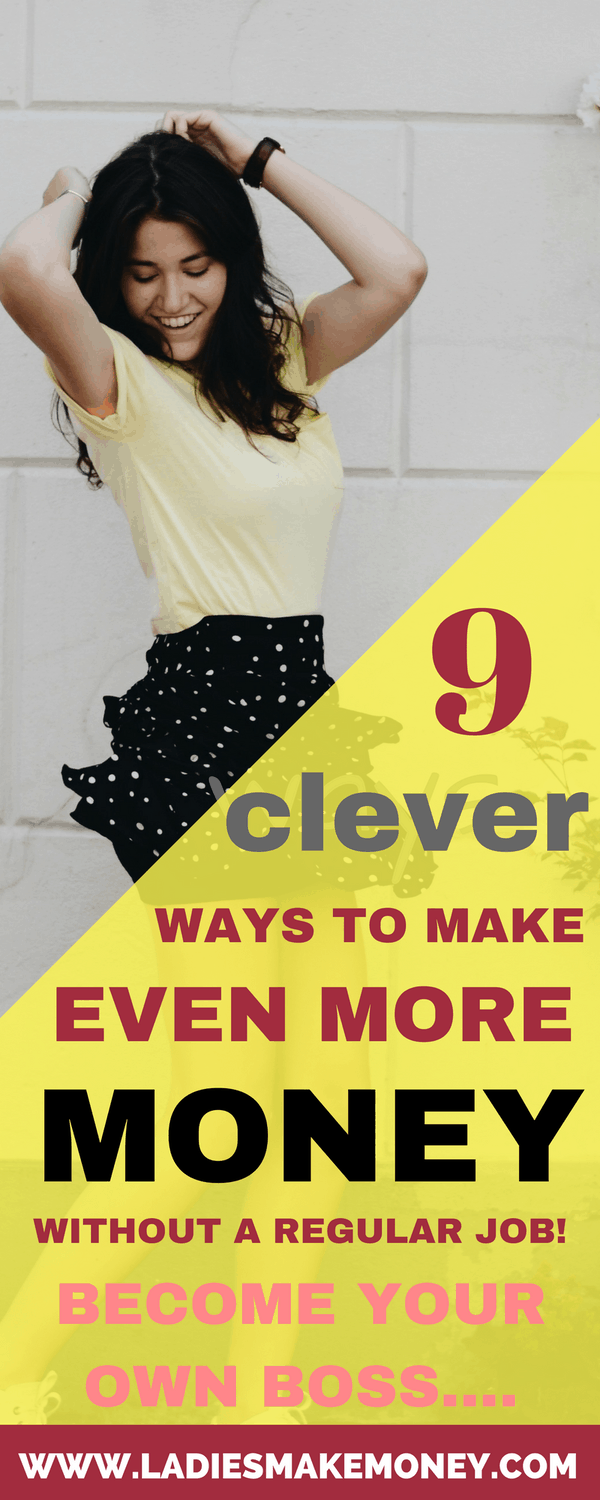 9 Clever ways to make more money even with no Job. How to make fast money online for those that have just recently lost their full-time jobs. How to make money online. Learn how to make extra money as a stay at home. Making money for extra income. Side hustlin that will make you extra money everyday. Ways to earn extra money. #makemoneyonline