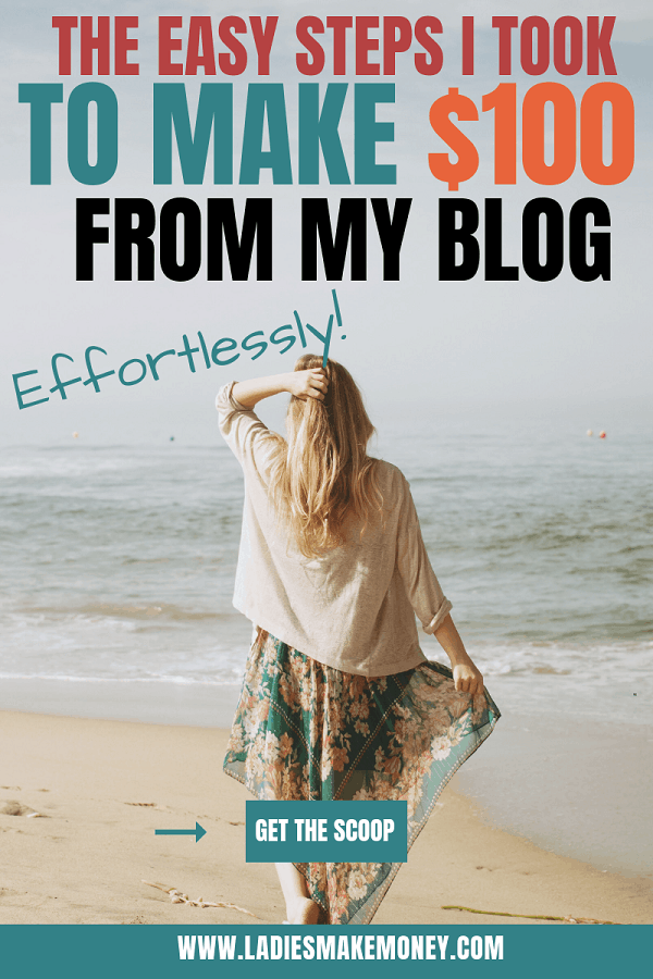 Make money blogging for beginners fast! Here are a few ideas you can use to make money blogging your first month! Learn how to earn passive income with your blog the easy way! Tips for making your first $100 with a blog! learn how I make extra money at home. This post is perfect those who want to learn how to make money blogging. #bloggingtips #bloggingformoney