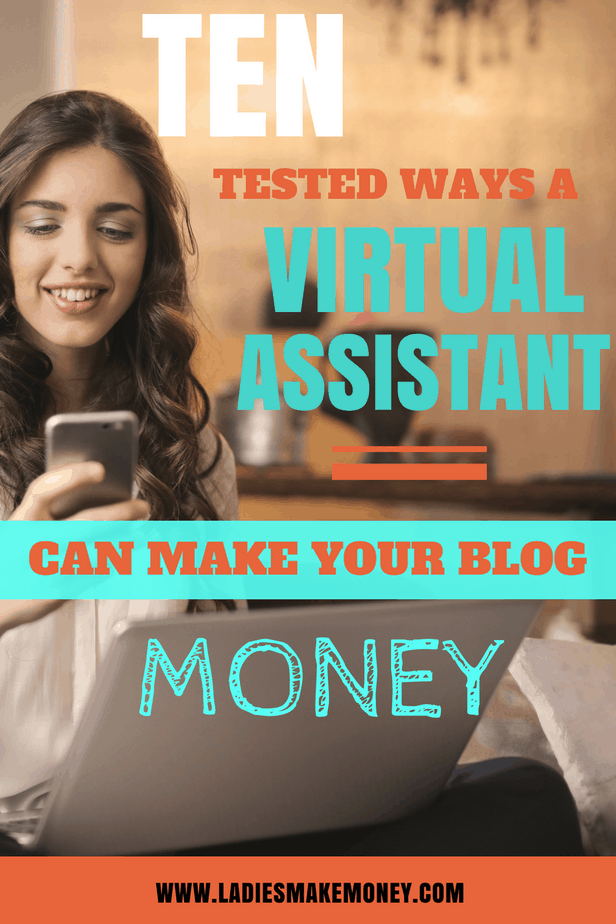 How a Virtual Assistant can help you make money on your blog. 10 Ways a Virtual Assistant Virtual can help your blog make money. Hiring a VA for your blog. Hiring a Virtual Assistant | Becoming a Virtual Assistant | Virtual assistant jobs | Make extra cash from home by becoming a Virtual Assistant | Work from home jobs | Virtual Assistant jobs | Virtual Assistant Business | How to become a virtual assistant! | Starting your own virtual assistant business is a great way to make money from home