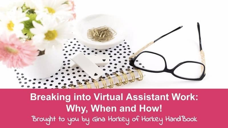 Breaking into virtual assistant business