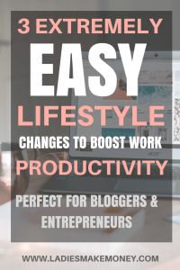 boost your productivity and streamline your business. Productivity hacks to help you improve yourself at work. Increase productivity at work with these simple hacks. Life changing productivity hacks for entrepreneurs and bloggers. Increase productivity tips for a better work week. #increaseproductivity #productivity