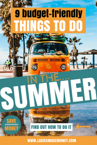 9 Budget-friendly things to do in the summer. If you are on a budget and looking for fun things to do this summer, you might want to check this post. Summer is a great time to try new things, explore things but it does not need to cost you much. These are money saving tips and ideas to do this summer if you are on a budget. We have also included a few fun things to do this summer with kids that you will love #funactivities #summerfun #summerideas