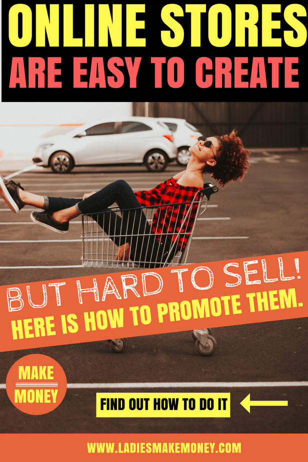 Learn how to effectively promote an-e-commerce store in order to make consistent sales. Use social media to promote your online store and make money everyday. Start an online store today to make money online. #ecommercestore #onlinestore #marketingstrategies #makingmoney